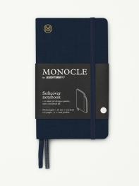 모노클 소프트커버 도트 노트 A6 네이비(Monocle Booklinen Softcover Dot A6 Navy)