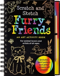 Furry Friends [With Wooden Stylus for Drawing]