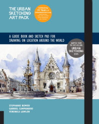 Urban Sketching Art Pack: A Guide Book and Sketch Pad to Drawing People, Architecture, and Events on