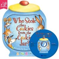 노부영 송 애니메이션 세이펜 Who Stole the Cookies from the Cookie Jar? (원서 & CD)