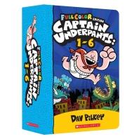Captain Underpants 1~6 Box Set (Color Edition)