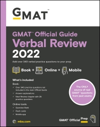 GMAT Official Guide Verbal Review 2022