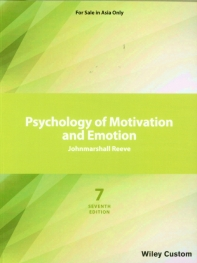 Psychology of Motivation and Emotion