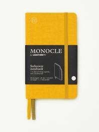 모노클 소프트커버 도트 노트 A6 옐로우(Monocle Booklinen Softcover Dot A6 Yellow)