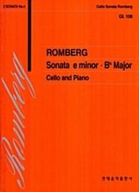 첼로 109:롬버그 소나타 E단조 Bb