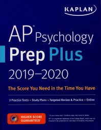 AP Psychology Prep Plus 2019-2020