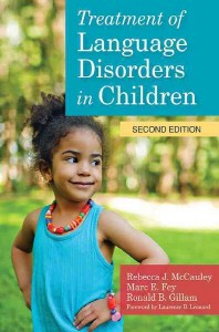 Treatment of Language Disorders in Children [With DVD]