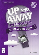 Up and Away in English Homework Book 2