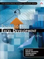 Professional Excel Development