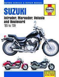 Suzuki Intruder, Marauder, Volusia, C50, M50 & S50 Service and Repair Manual