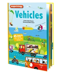 Vehicles: 45 Magnetic Pieces