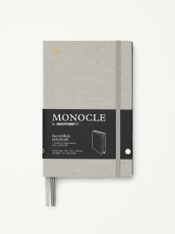 모노클 아코디언홀더 도트 노트 B6 라이트 그레이(Monocle Accordion Notebook Dot B6 Light Grey)