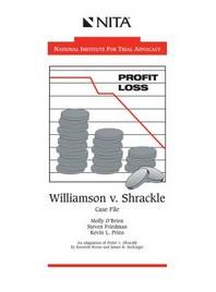 Williamson V. Shrackle