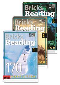 브릭스 리딩 Bricks Reading 170 논픽션 nonfiction 1,2,3 세트