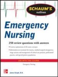 Schaum's Outline of Emergency Nursing