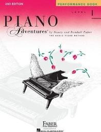 Piano Adventures Level 1 - Performance Book (Revised)