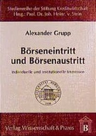 B?rseneintritt und B?rsenaustritt