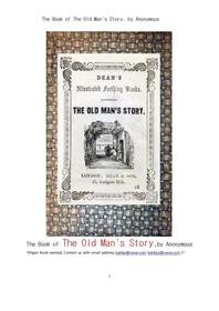 노인이야기.The Book of The Old Man's Story, by Anonymous