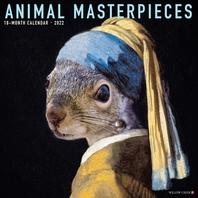 Animal Masterpieces 2022 Wall Calendar