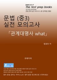 중3 문법 실전 모의고사 [관계대명사 what]