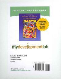 Mydevelopmentlab with Pearson Etext -- Standalone Access Card -- For Infants, Children, and Adolescents