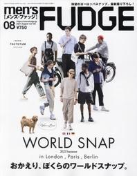 멘즈퍼지 MENS FUDGE 2021.08 (WORLD SNAP 2021 Summer)