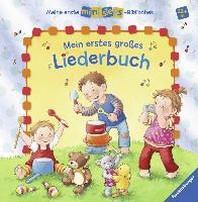 Meine erste ministeps?-Bibliothek: Mein erstes grosses Liederbuch