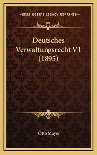Deutsches Verwaltungsrecht V1 (1895)