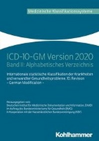 ICD-10-GM Version 2020