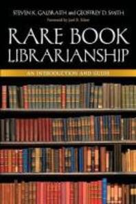 Rare Book Librarianship