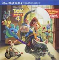 Toy Story 4 Read-Along Storybook and CD 토이스토리4