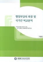 행정부담의 측정 및 국가간 비교분석