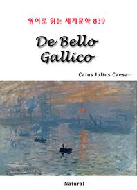 De Bello Gallico (영어로 읽는 세계문학 839)