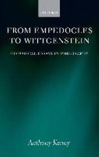 From Empedocles to Wittgentstein