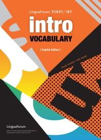 링구아포럼 TOEFL iBT INTRO VOCABULARY (영문판)