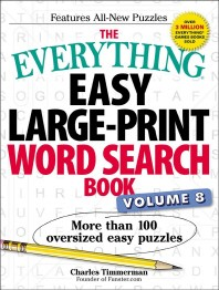 The Everything Easy Large-Print Word Search Book, Volume 8, 8