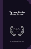 Universal Classics Library, Volume 1