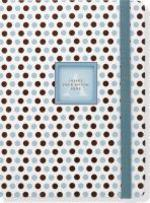 Blue Dots Monogram Journal