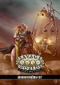 Savage Worlds Charakterboegen-Set