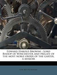 Edward Harold Browne