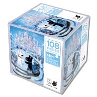 가스파드와 리사 미니 직소 퍼즐 108pcs: 얼음성