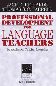 Professional Development For Language Teachers : Strategies For Teacher Learning