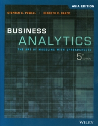 Business Analytics(ASIA EDITION)