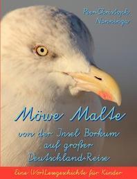 Moewe Malte von der Insel Borkum auf grosser Deutschland-Reise