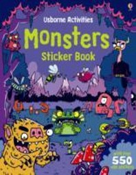 Monsters Sticker Book