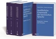 Ausfuehrliche Grammatik der lateinischen Sprache