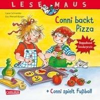 "LESEMAUS 204: ""Conni backt Pizza"" + ""Conni spielt Fussball"" Conni Doppelband"