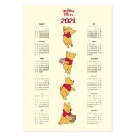 디즈니 곰돌이 푸 포스터 달력 2021 [인터넷판매전용]