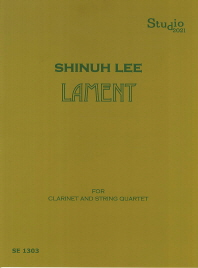 Lament for Clarinet and String Quartet