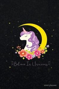 Believe in Unicorns 2020 Planner